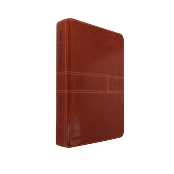 NIV Every Man's Bible, Duo-Tone, Burnt Khaki