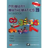 Singapore Math, Primary Math Workbook 2B, U.S. Edition, Paperback, 176 Pages, Grades 2-3
