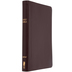 NIV Thinline Reference Bible, Bonded Leather, Burgundy, Thumb Indexed