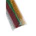 Tree House Studio, Chenille Stems, 12 x 1/4 Inches, Multi-Colored Tinsel, 50 Count