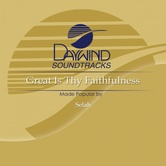 Great Is Thy Faithfulness, Accompaniment Track, As Made Popular by Selah, CD