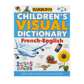 Barron's, Children's Visual Dictionary French-English, Paperback, Grades 3-5