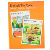 Educators Publishing Service, Explode The Code Teacher's Guide for Books 7-8, Grades 2-4