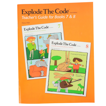 Educators Publishing Service, Explode The Code Teacher's Guide for Books 7-8, Grades 2-4