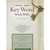 NASB Hebrew-Greek Key Word Study Bible, Hardcover
