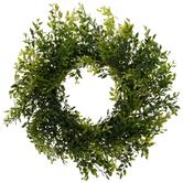 Bella Vita, Lemon Beauty Wreath, Plastic, Green, 17 Inches