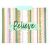 Imagine Believe Create File Folders, 3 Assorted Designs, Multi-Colored, 12 Count