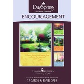 DaySpring, Thomas Kinkade Encouragement Cards, 12 count