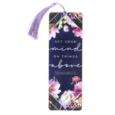 Salt & Light, Colossians 3:2 Things Above Tassel Bookmark, 2 1/4 x 7 inches
