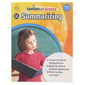 Carson-Dellosa, Summarizing Resource Book, Spotlight on Reading, Reproducible Paperback, Grades 1-2