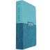 KJV Reference Bible, Giant Print, Imitation Leather, Teal Blue, Floral Pattern