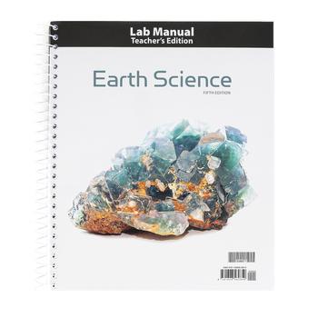 BJU Press, Earth Science Teacher's Edition Lab Manual, 5th Edition, Grade 8
