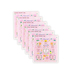 Faith That Sticks, Embossed Psalm Quilt Stickers, Package of 60