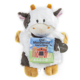 Demdaco, Old MacDonald Had A Farm Puppet and Book, Plush, 9 1/2 inches