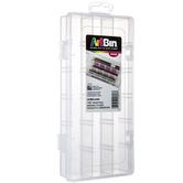 ArtBin, Pencil Storage Box, Plastic, Clear, 9 x 4 1/2 x 1 1/2 inches