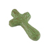 Hand Held Cross, Journey Holding Cross, by Gary E. Hale, Green, 4 1/2 x 2 1/2 inches