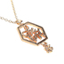 Modern Grace, Ephesians 4:32 Be Kind Pendant Necklace, Gold, 20 Inches