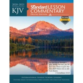 KJV Standard Lesson Commentary 2020-2021: Deluxe Edition, by David C. Cook, Paperback