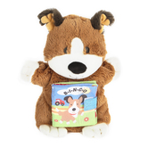 Demdaco, B-I-N-G-O Plush Puppet and Storybook, 9 1/2 inches