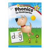 Home Workbooks Gold Star Edition Activity Book: Phonics for Kindergarten, 64 Pages, Grade K
