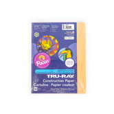 """Pacon, Tru-Ray Sulfite Construction Paper Pack, Salmon, 50Ct, 9""""X12"""""""