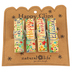 Natural Life, Thankful Grateful & Blessed Happy Clips for Chips, 1 Each of 4 Designs