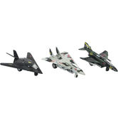 Master Toys and Novelties, Inc., Military Jet Pullback Toy Vehicle, 6 inches