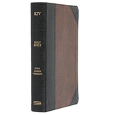KJV Large Print Personal Size Reference Bible, Imitation Leather, Multiple Colors Available