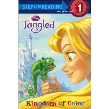 Tangled, Kingdom of Color, Step Into Reading, Level 1, by Melissa Lagonegro, Paperback