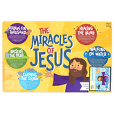 Salt & Light Kids, The Miracles of Jesus Learning Mat, Plastic, 11 1/2 x 17 1/2 Inches, Ages 3 & Up