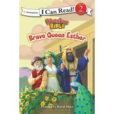 Adventure Bible: Brave Queen Esther, Level 2 Reader, Illustrated by David Miles, Paperback