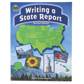 Teacher Created Resources, Writing a State Report, Paperback, 48 Pages, Grades 3-6