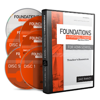 Foundations in Personal Finance High School, Homeschool Teacher DVD, by Dave Ramsey, Grades 8-12
