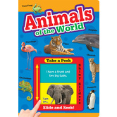 Animals of the World, by Flying Frog, Board Book