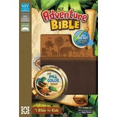 NIV Adventure Bible, Duo-Tone, Chocolate and Toffee