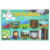 Salt & Light Kids, Ten Plagues of Egypt Learning Mat, Plastic, 11 1/2 x 17 1/2 Inches, Ages 3 & Older
