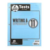 BJU Press, Writing & Grammar 11 Tests Answer Key (3rd Edition)