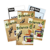 BJU Press, Science 6 Complete Subject Kit, 4th Edition, Grade 6