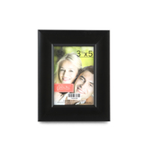 "Green Tree Gallery, Expression Scoop Frame, Plastic, Black, 3 1/2"" X 5"""