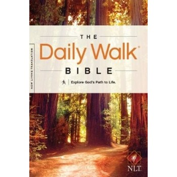NLT Daily Walk Bible, Paperback