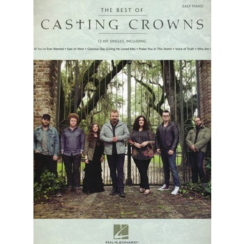 The Best of Casting Crowns Songbook, by Casting Crowns, Paperback