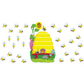 Busy Bees Job Chart Bulletin Board