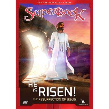 Superbook, He Is Risen The Resurrection of Jesus, DVD