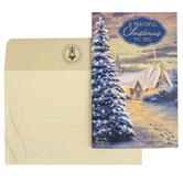 DaySpring, Peaceful Christmas Thomas Kinkade Boxed Cards, 18 Cards 19 Envelopes