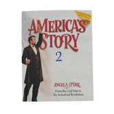 Master Books, America's Story Volume 2 Student Text, by Angela O'Dell, Paperback, Grades 3-6