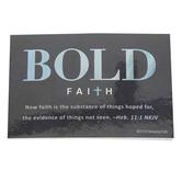 Renewing Faith, Hebrews 11:1 Bold Faith Pass Along Cards, 2 x 3 inches, Set of 10