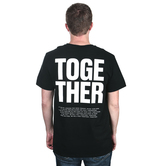 Riot Merchandising, for KING & COUNTRY, Together, Men's Short Sleeved T-Shirt, Black, Medium