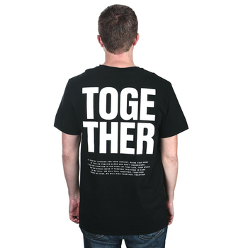 for KING & COUNTRY, Together, Men's Short Sleeved T-Shirt, Black, S-2XL