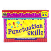 Teacher Created Resources, Punctuation Skills Cards, Boxed Set, Grades 3-5