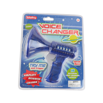 Schylling, Voice Changer, 10 Settings, 6 Lights, Assorted Colors